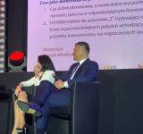 Marek Ignor - prezes DFR, Agnieszka Han - wiceprezes Hasco -Lek SA